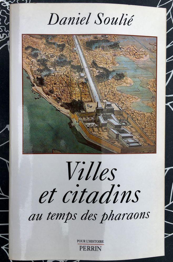 Villes et citadins au temps des pharaons par D.Soulié,NEUF 8 L'Isle-Jourdain (32)