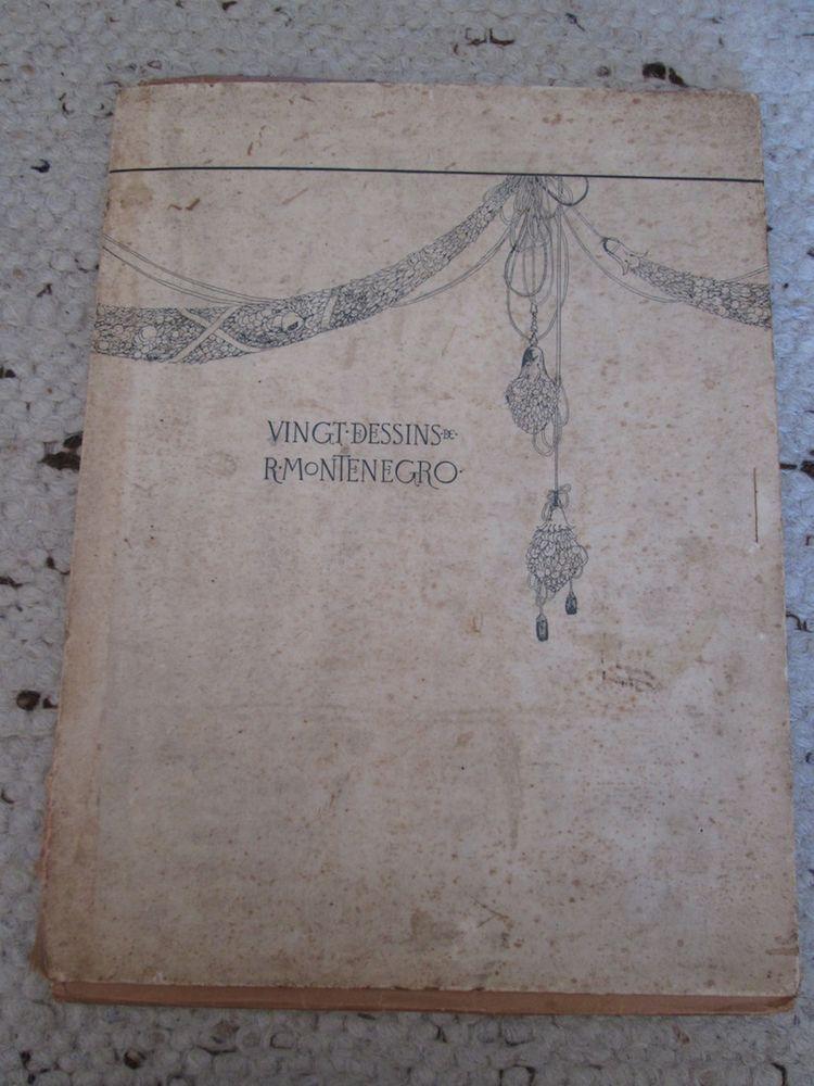 Vingt dessins de R. Montenegro 200 Herblay (95)
