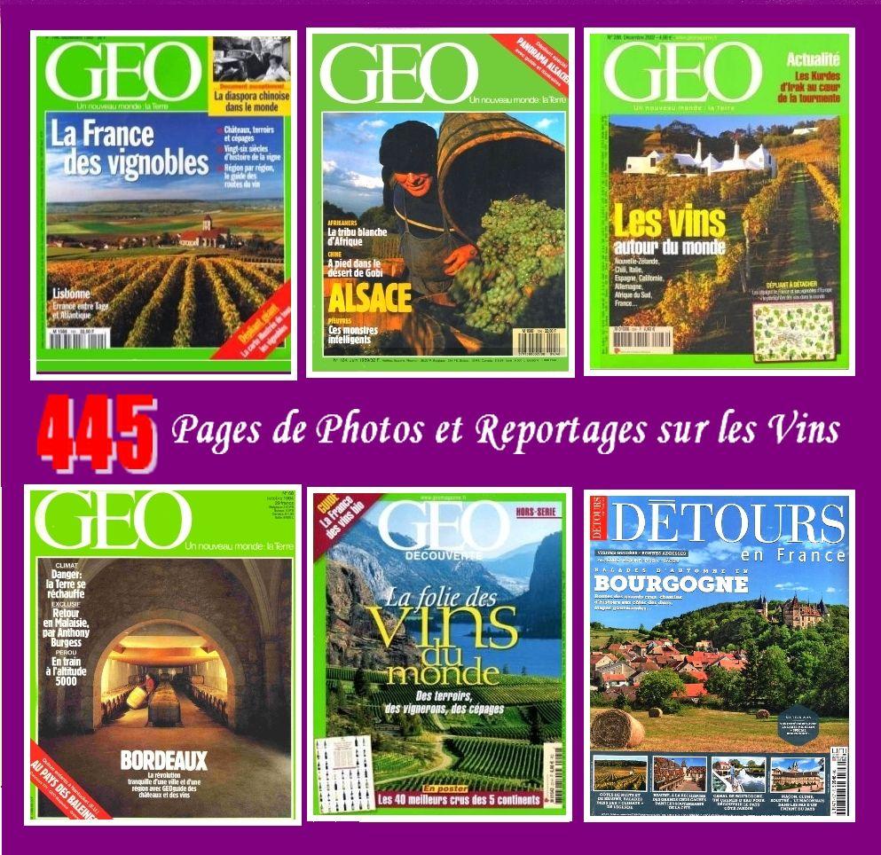LES VINS - géo - DE FRANCE ET DU MONDE 18 Lille (59)
