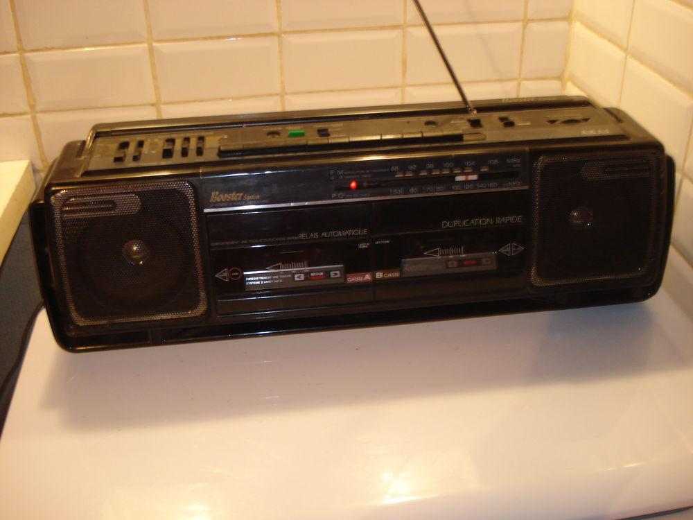 Vintage AKAI W-580L Ghetto Blaster Boom Box double Cassette  40 Fontenay-le-Fleury (78)