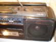 Vintage AKAI W-580L Ghetto Blaster Boom Box double Cassette Audio et hifi