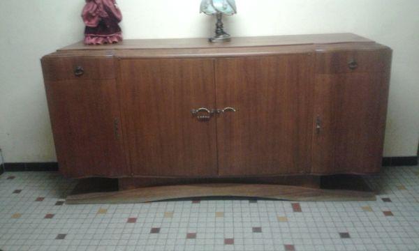achetez vintage buffet bas occasion annonce vente villepinte 93 wb148213908. Black Bedroom Furniture Sets. Home Design Ideas