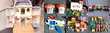 VINTAGE FISHER PRICE 1961: BOIS fait aux USA ou plastique Jeux / jouets