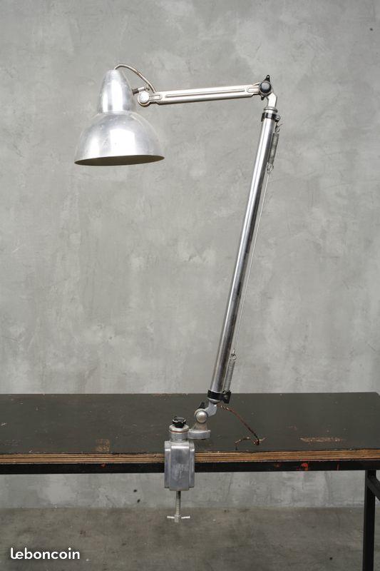 Vintage Lampe d'atelier super chrome 1960 90 Paris 15 (75)