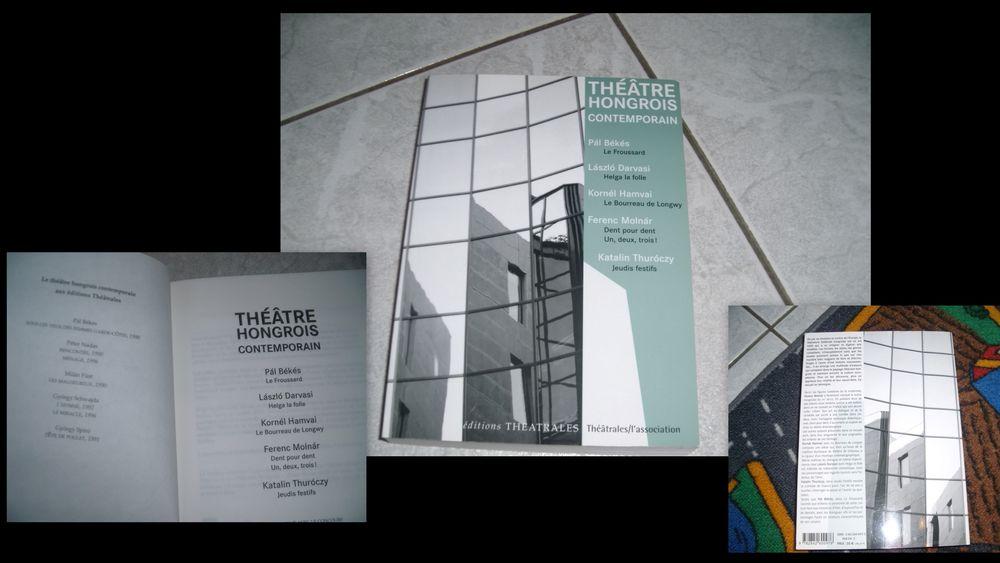VINTAGE  * livre Théâtre Hongrois contemporain 10 Chalon-sur-Saône (71)
