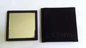 Vintage miroir de poche en métal : Paris Sothys 10 Limoges (87)