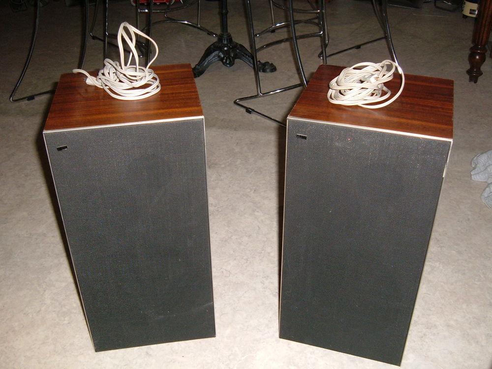 B & O vintage scanspeak speakers 70' 199 Marckolsheim (67)