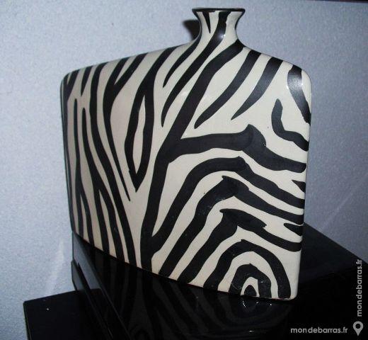 Vintage vase design 'ZEBRE' 60 Antibes (06)