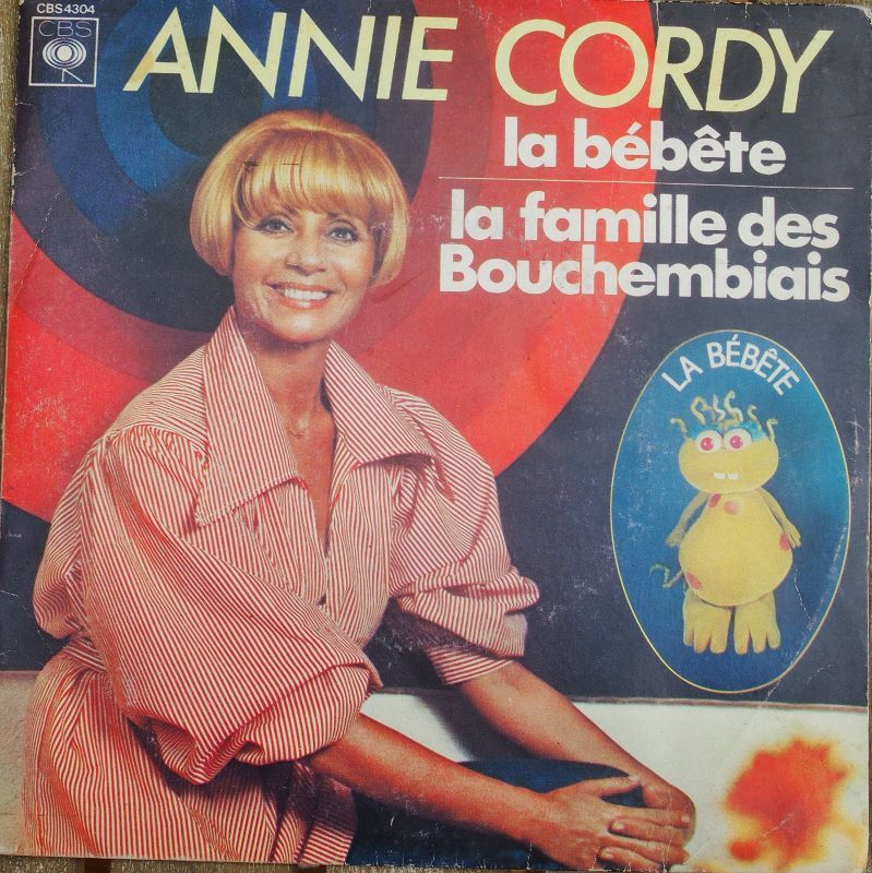 Vinyl Annie CORDY 4 Lille (59)