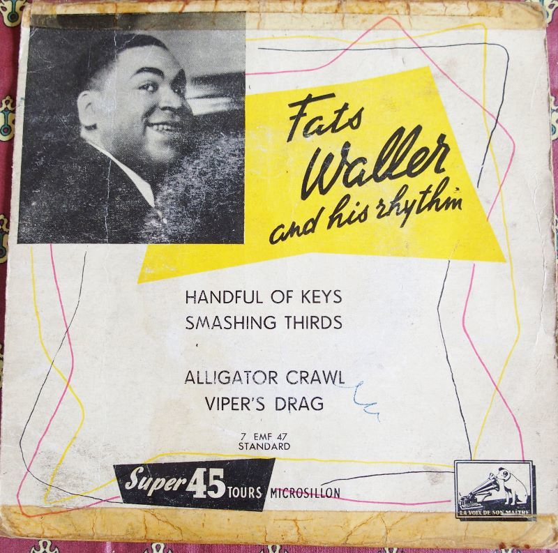 Vinyl Fats WALLER 5 Lille (59)