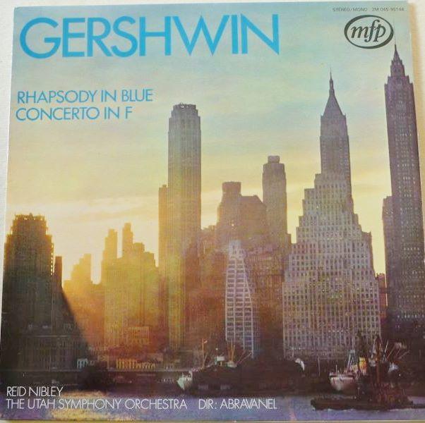 Vinyl GERSHWIN Rhapsody in Blue 4 Lille (59)