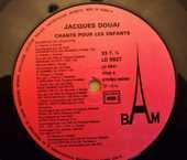 Vinyl Jacques DOUAI  chante pour les enfants  5 Lille (59)