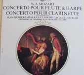 Vinyl MOZART  Flute et Harpe, Clarinette  6 Lille (59)