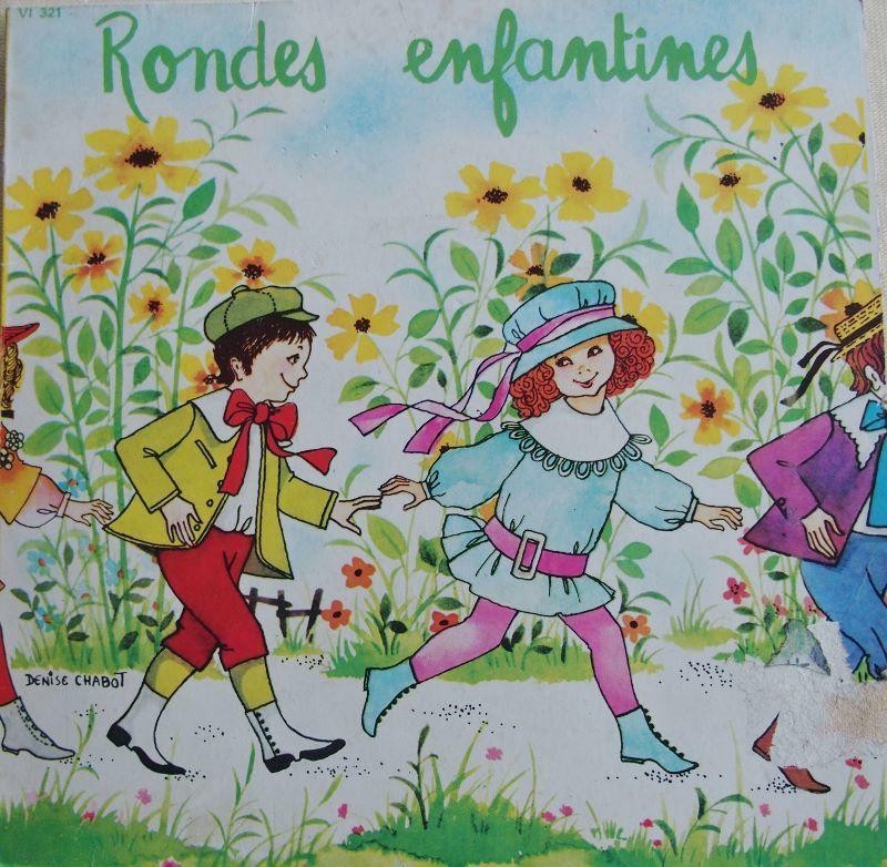 Vinyl RONDES ENFANTINES  5 Lille (59)