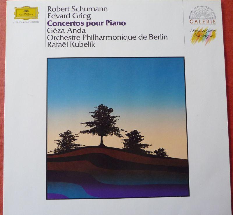 Vinyl SCHUMANN  GRIEG  Piano ANDA 5 Lille (59)