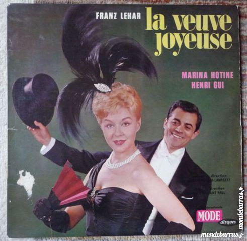Vinyl La Veuve Joyeuse 5 Lille (59)