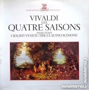 Vinyl  VIVALDI les QUATRES SAISONS 2 Amiens (80)