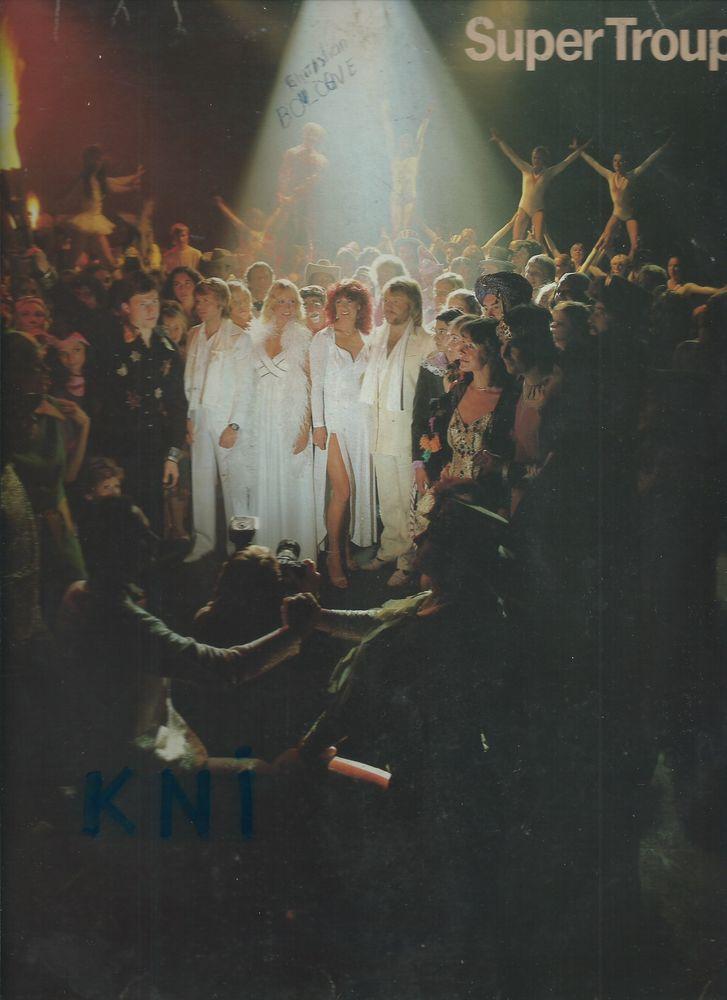 Vinyle 33T , ABBA , Super Trouper 1980 12 Tours (37)