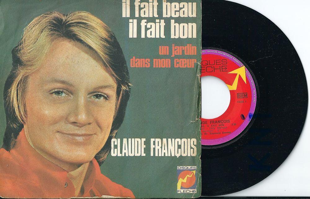 Vinyle 45 T Claude François 1971 6 Tours (37)