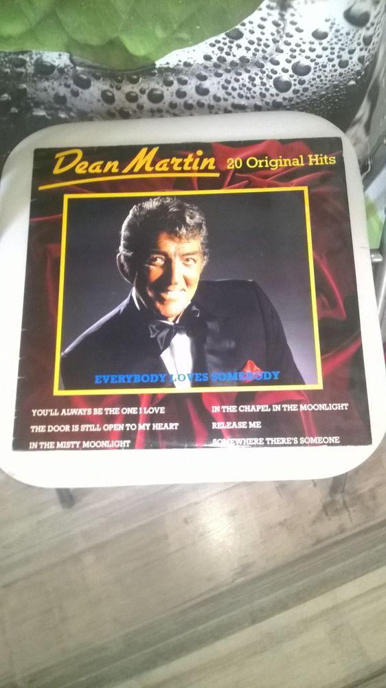 Vinyle Dean Martin Everybody Loves Somebody - 20 Original H 5 Talange (57)