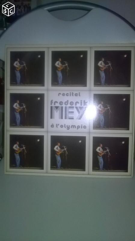 Vinyle 2 disques 33 tours  de Frederic Mey  21 Talange (57)