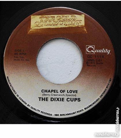 Vinyle 45t / THE DIXIE CUPS / Chapel of love CD et vinyles