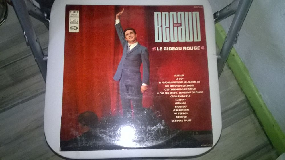 Vinyle Gilbert Becaud
