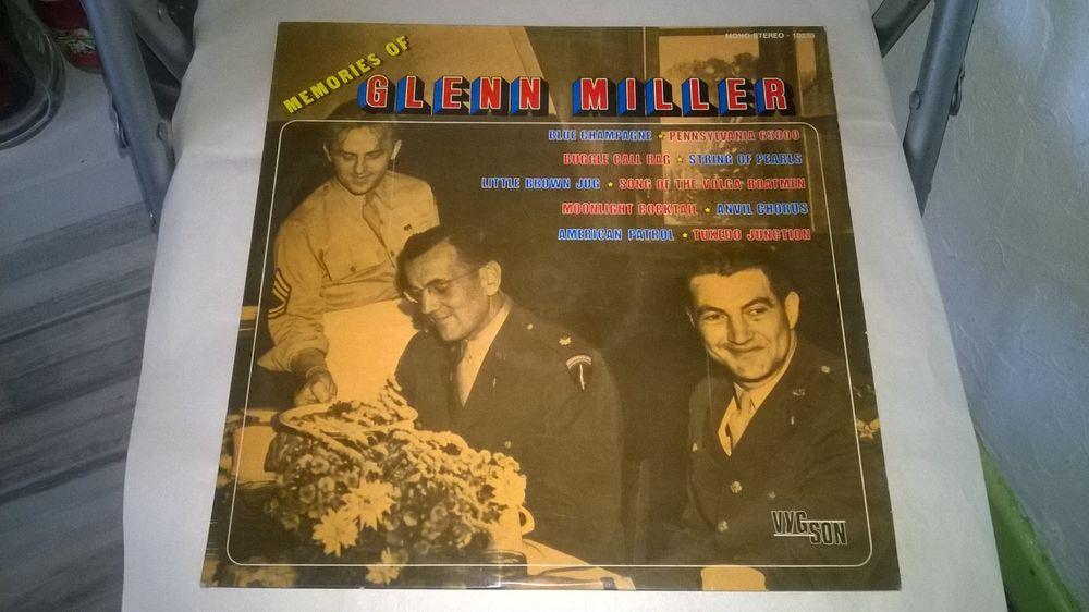 Vinyle Glenn Miller Memories Of Excellent etat Rare Blue 20 Talange (57)