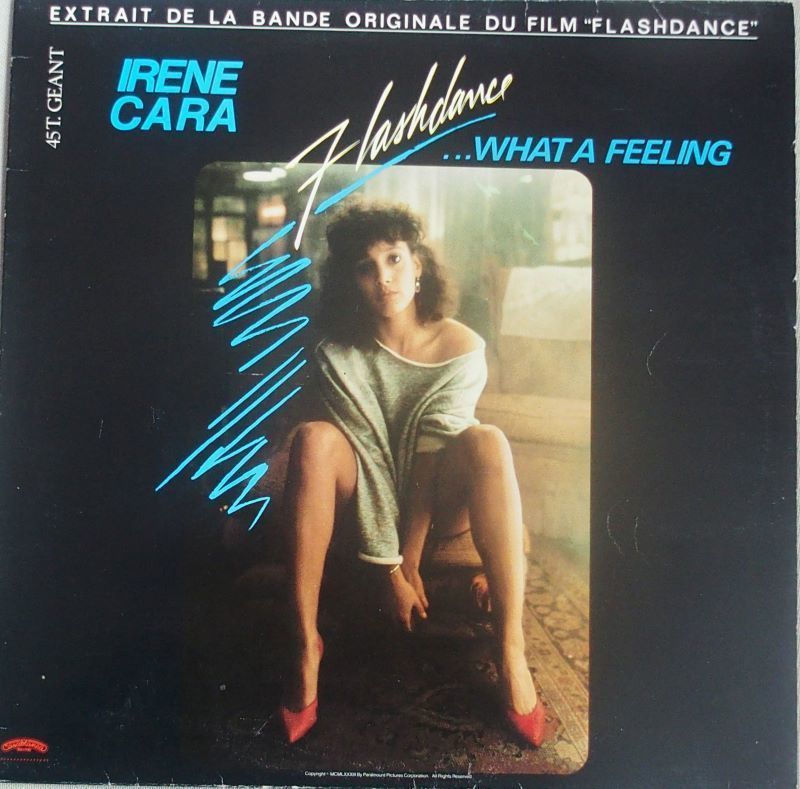 Vinyle Irene CARA Flashdance 