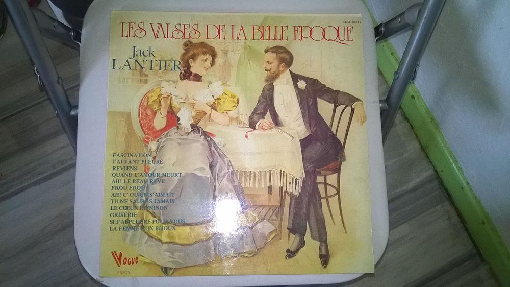 Vinyle Jack Lantier les valses de la belle époque 1973 Ex CD et vinyles
