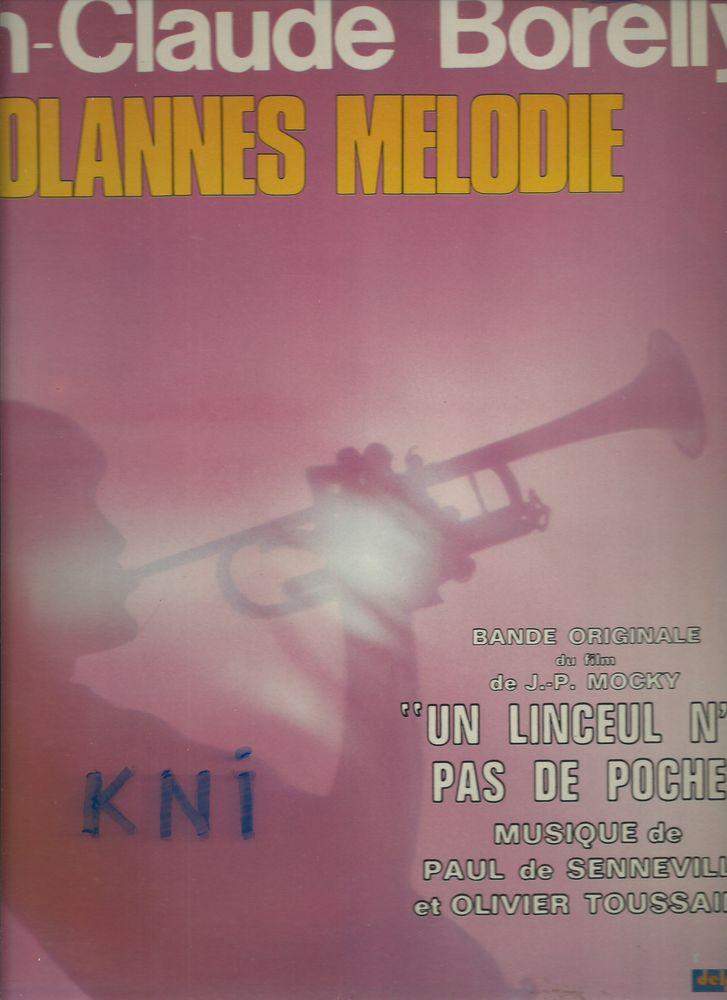 Vinyle 33T , Jean -Claude Borelly Dolannes mélodie 1975 7 Tours (37)
