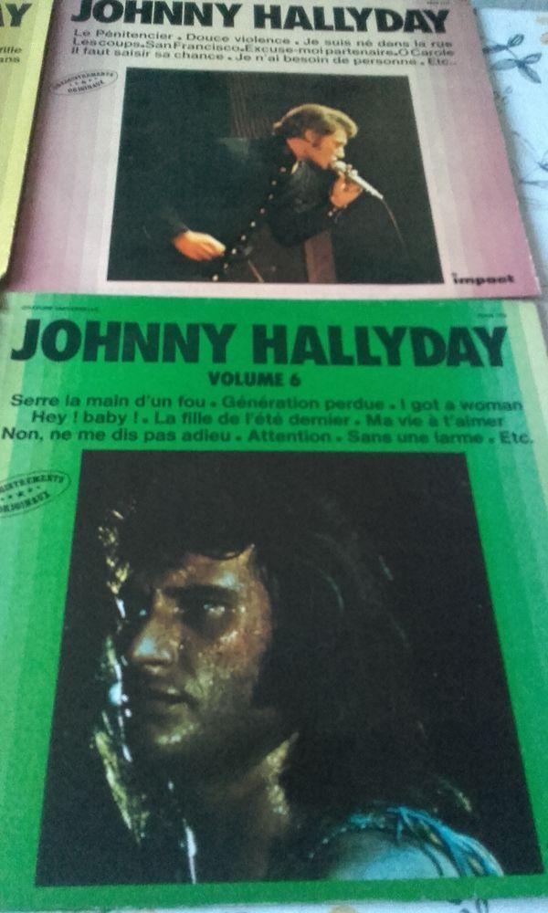 vinyle de Johnny hallyday 30 Aubin (12)
