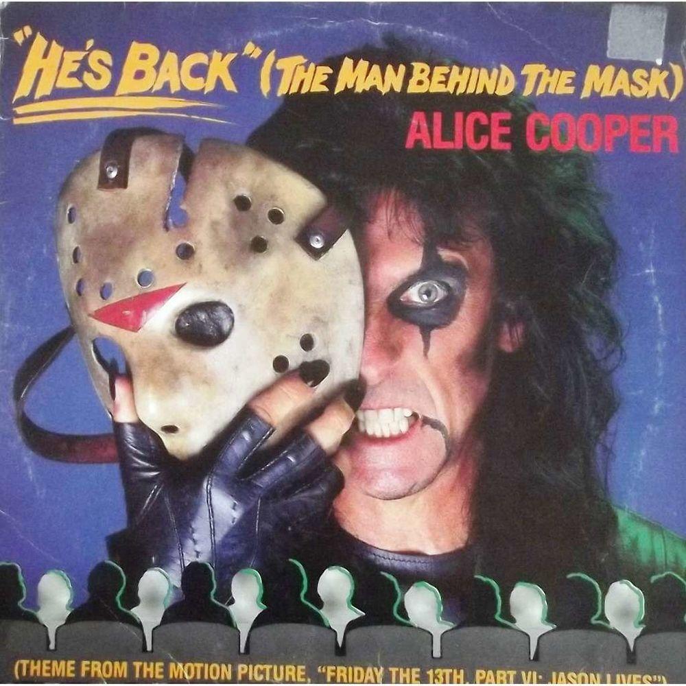 Vinyle Maxi 45T Alice Cooper  -  He's back 11 Valenciennes (59)