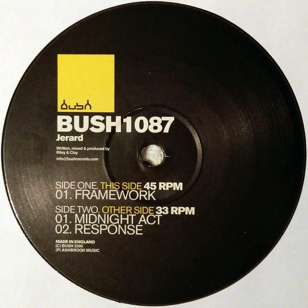 Vinyle, Maxi  BUSH1087  2 Thiais (94)