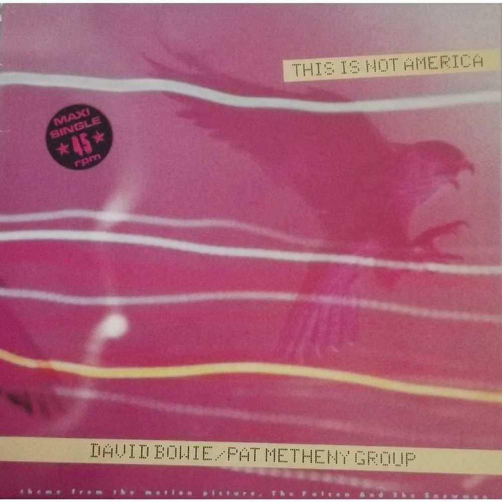 Vinyle Maxi 45T David Bowie  -  This is not america 16 Valenciennes (59)