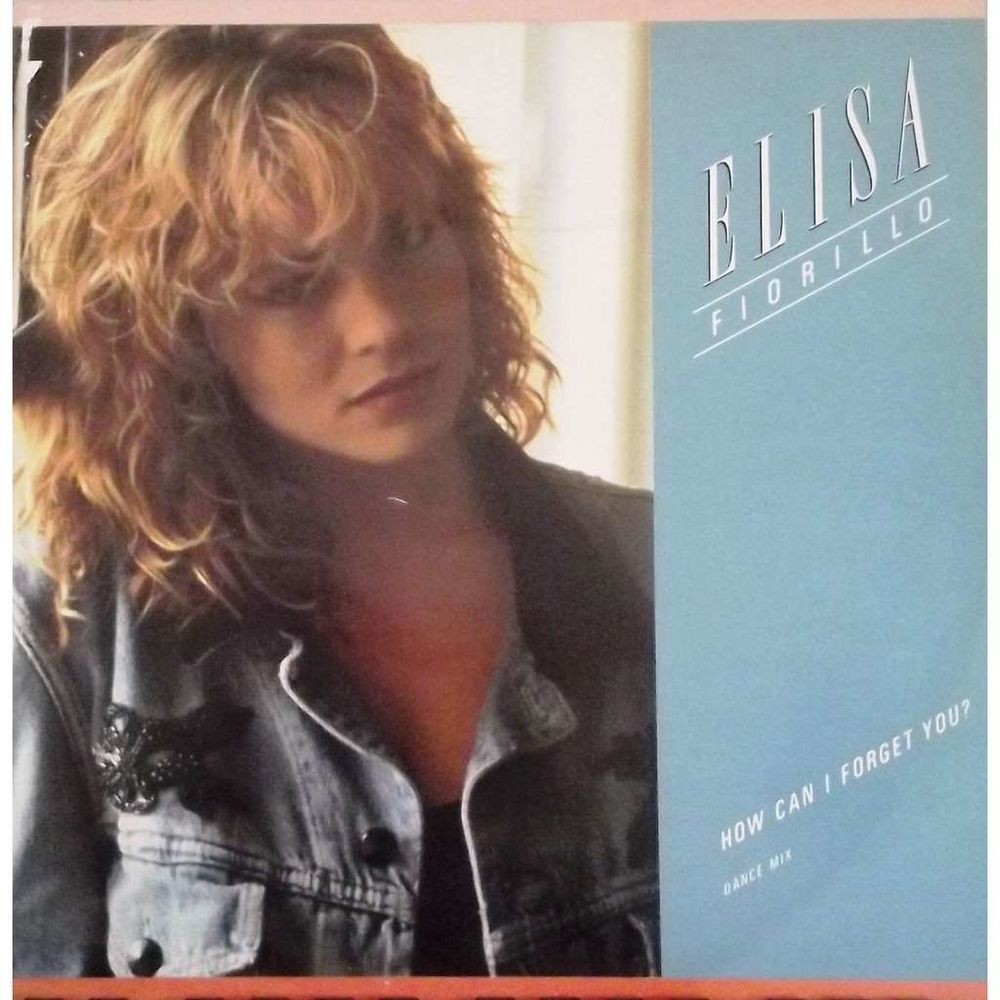 Vinyle Maxi 45T Elisa Fiorillo  -  How can i forget you 5 Valenciennes (59)