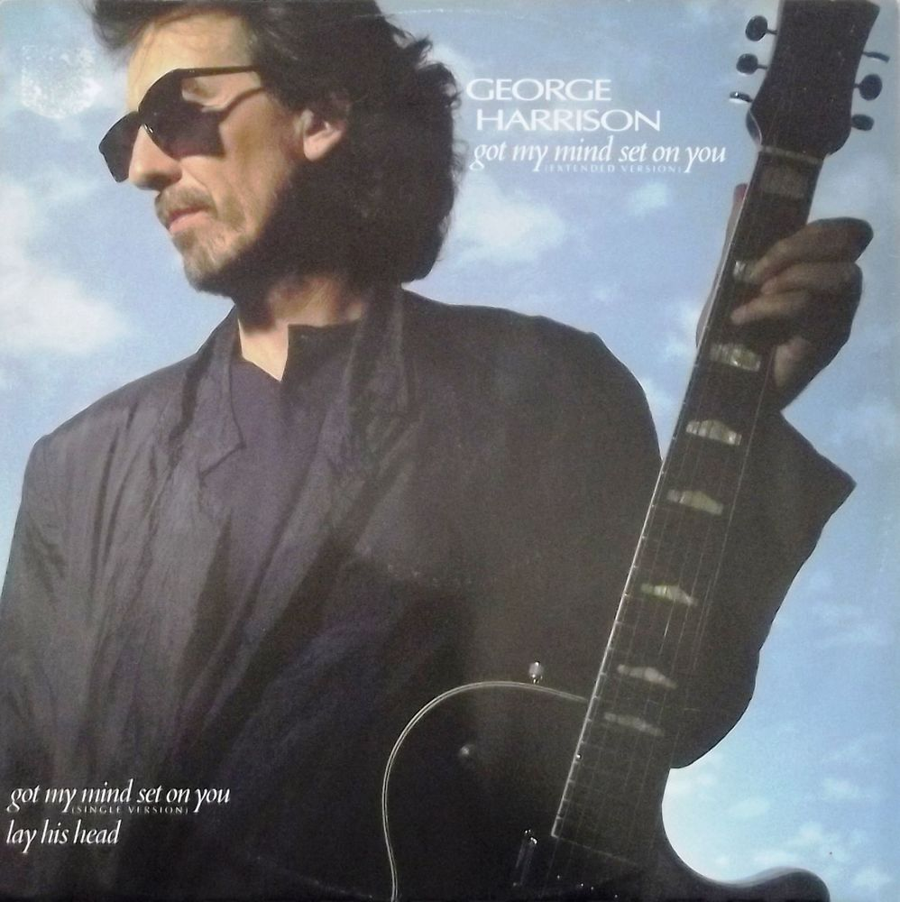 Vinyle Maxi 45T George Harrison  -  Got my mind set on you 14 Valenciennes (59)