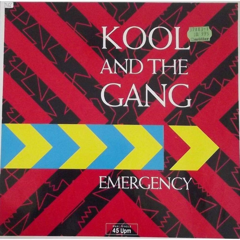 Vinyle Maxi 45T Kool & The Gang  -  Emergency 7 Valenciennes (59)