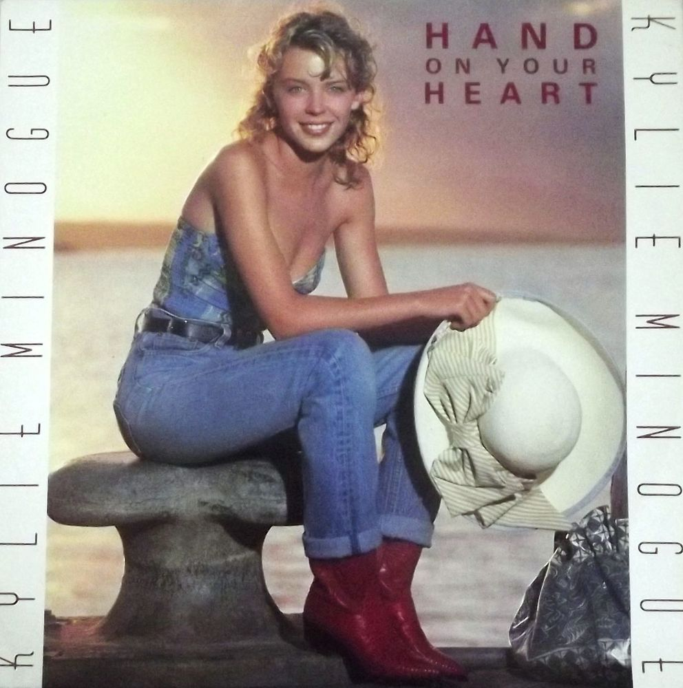 Vinyle Maxi 45T Kylie Minogue  -  Hand on your heart 6 Valenciennes (59)