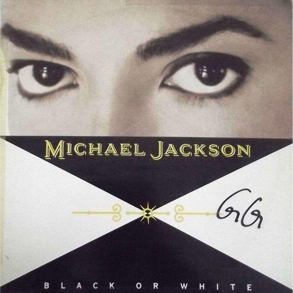 Vinyle Maxi 45T Michael Jackson  -  Black or white 8 Valenciennes (59)