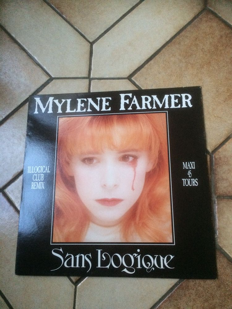 Vinyle maxi 45 Mylène Farmer  20 Neuves-Maisons (54)