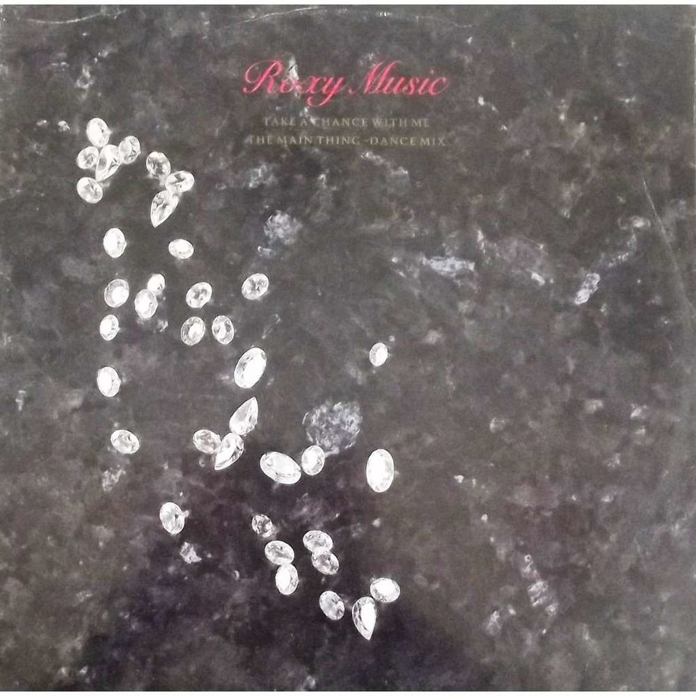 Vinyle Maxi 45T Roxy Music  -  Take a chance with me 7 Valenciennes (59)