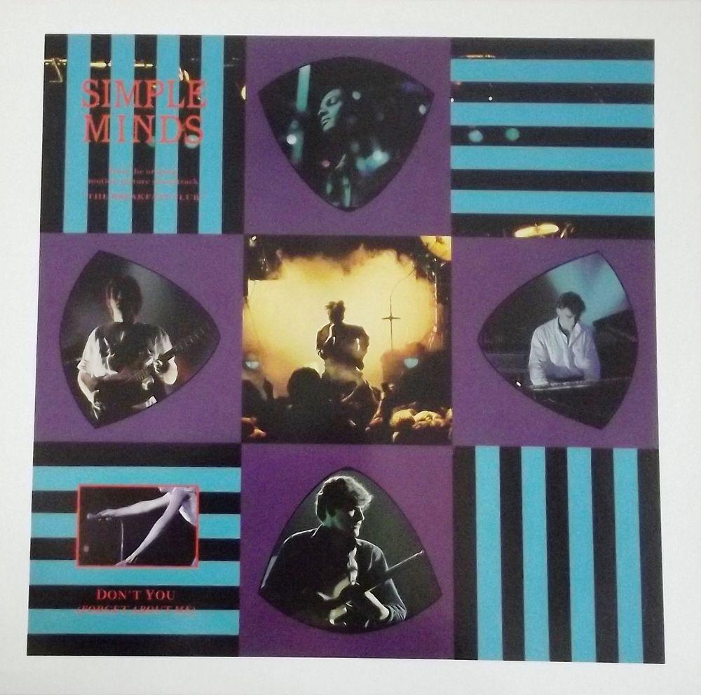 Vinyle Maxi 45T Simple Minds  -  Don't you 7 Valenciennes (59)