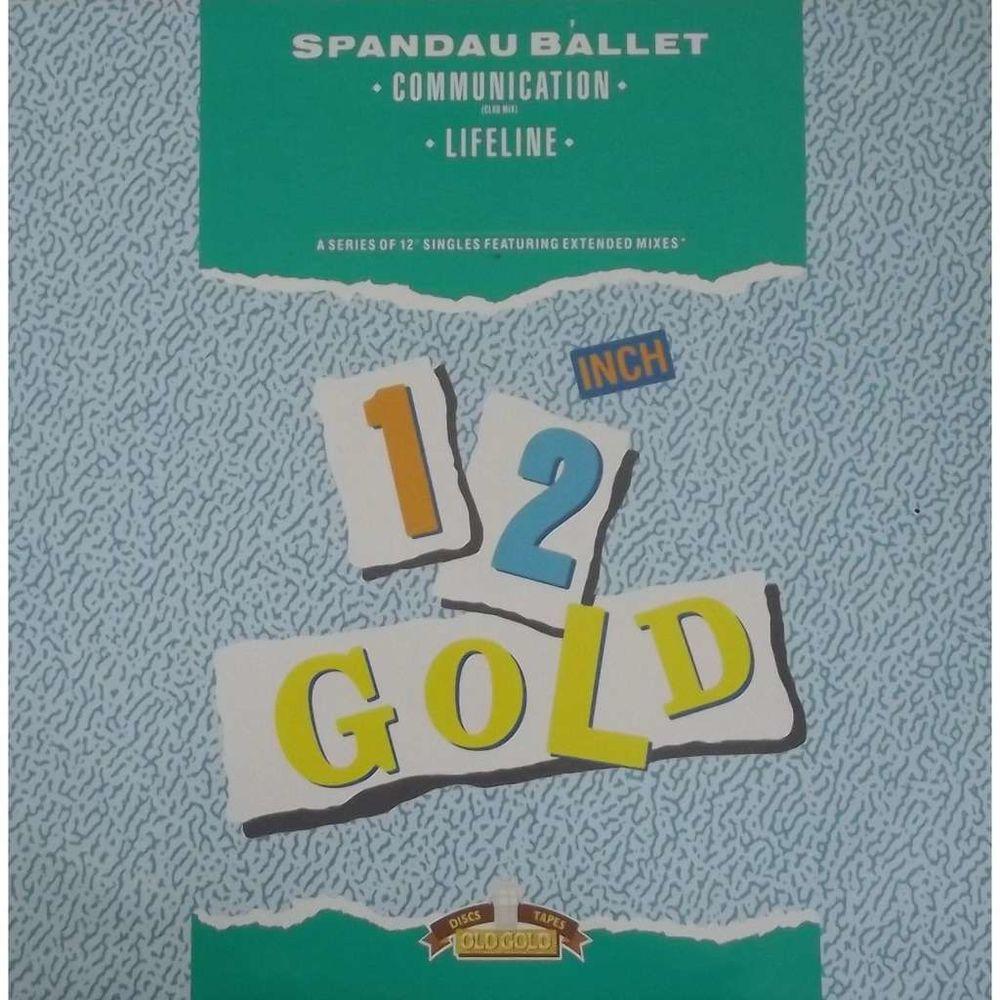 Vinyle Maxi 45T Spandau Ballet  -  Communication 7 Valenciennes (59)
