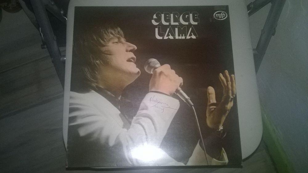 Vinyle Serge LAMA LES BALLONS ROUGES 1974 Excellent etat 15 Talange (57)