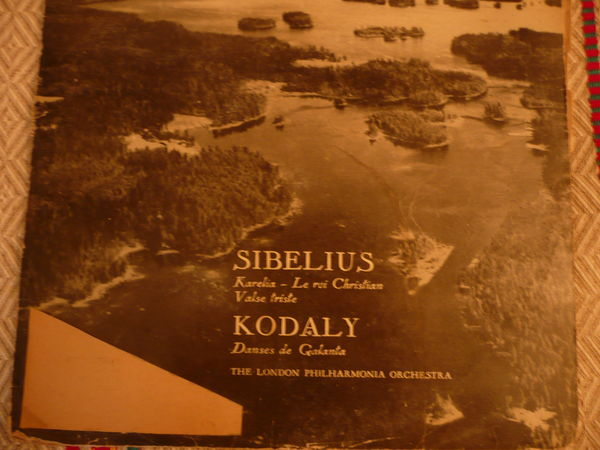 Vinyle : SIBELIUS ET KODALI 0 L'Arbresle (69)