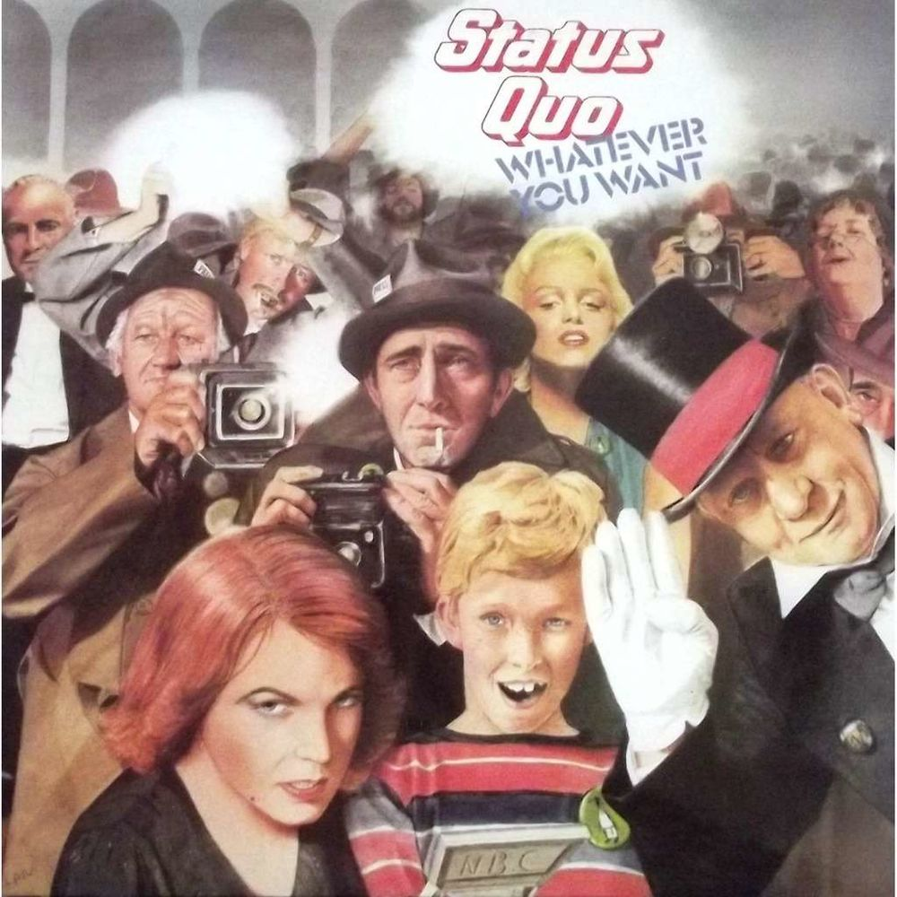 Vinyle 33T Status Quo  -  Whatever you want 9 Valenciennes (59)