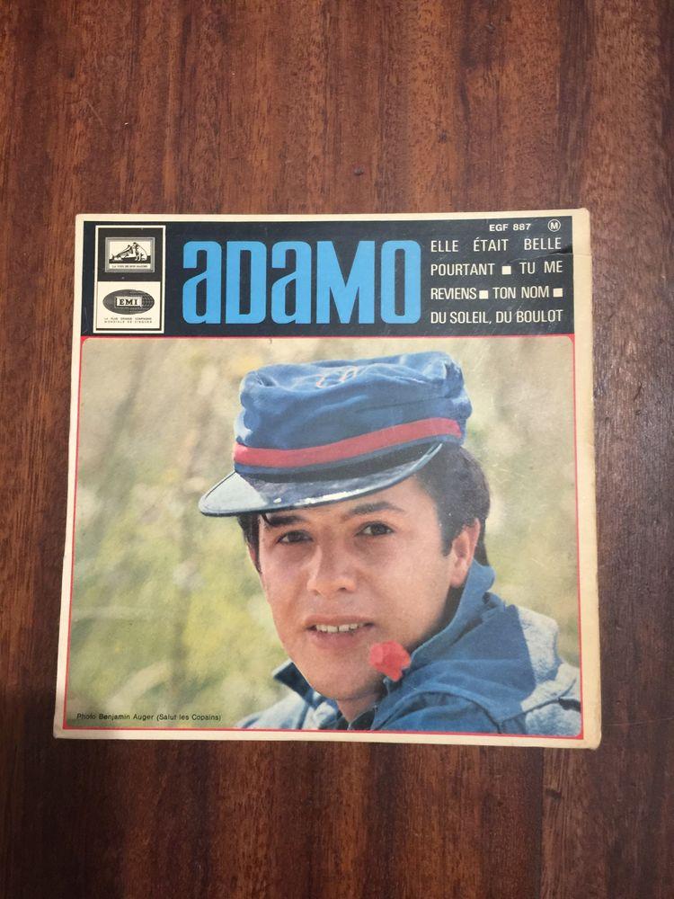 Vinyle 45 tours Adamo ´´ Elle était si belle pourtant ´´ 5 Saleilles (66)
