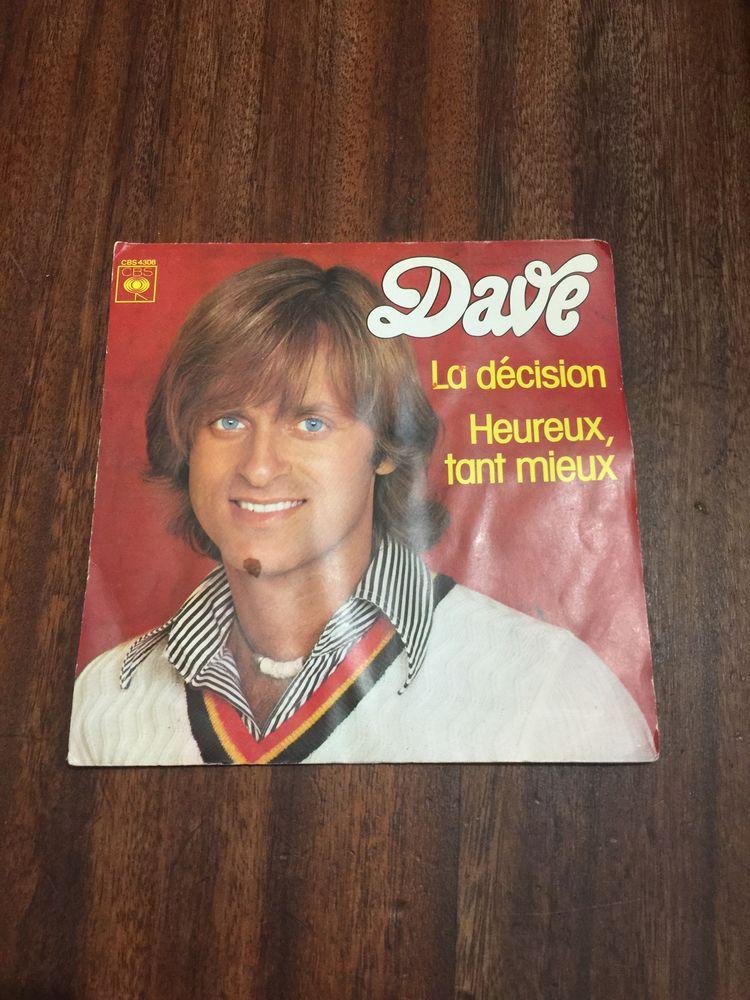 Vinyle 45 tours. Dave ´´ La décision ´´ 2 Saleilles (66)