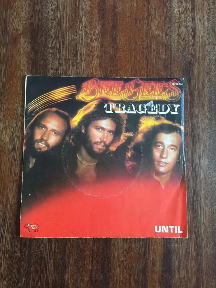 Vinyle 45 tours Bee Gees   Tragedy   3 Saleilles (66)